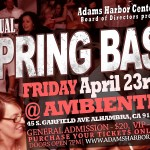 Adams Harbor spring bash flyer