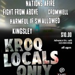 Locals Only flyer